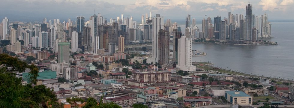 skyline of Panama