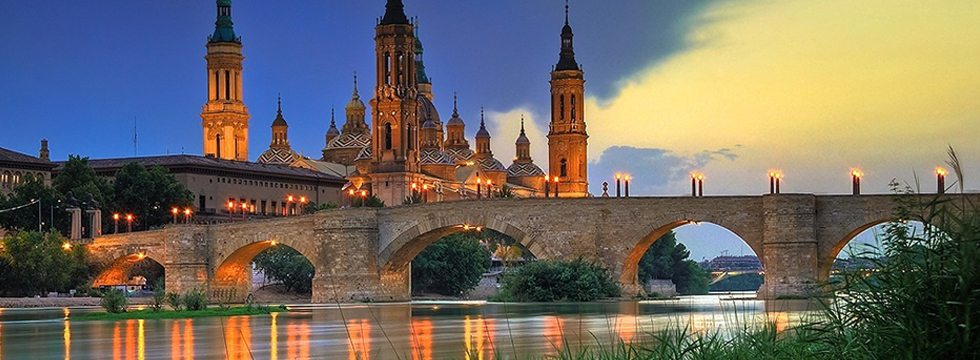 river and building in Spain